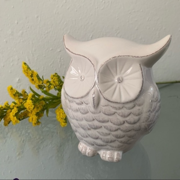 Vintage Ceramic Owl figurine Decor